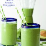 Pineapple and Banana Green Smoothie