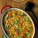 Roasted Corn and Chicken Coconut Curry