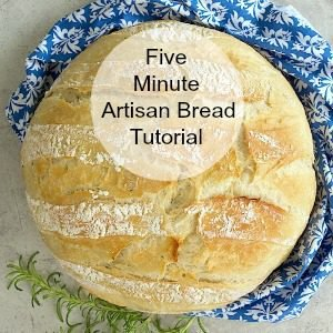 Five Minute Artisan Bread Tutorial - step by step pictures to show you how easy it is to make this delicious European-style bread!