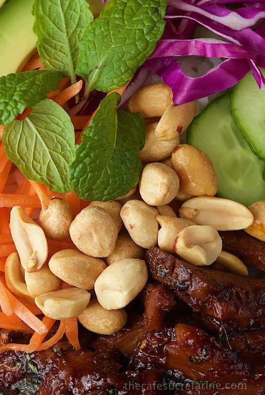 Vietnamese Caramelized Pork Salad Bowls - if you look up fresh and delicious in the dictionary, you might just see a picture of this fabulous dish. It's sweet, salty, spicy and FRESH all rolled into one!