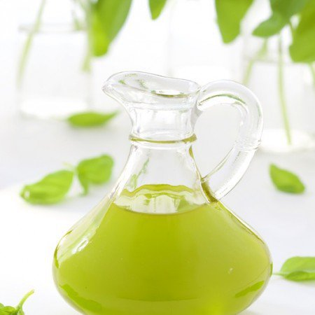 Basil Oil - I'm sure you've seen the little packs of basic at the grocery store. That and some oil is all it takes for make this fabulous condiment., that's perfect for a dipping sauce or a drizzle for steak, fish, poultry and a zillion other things.
