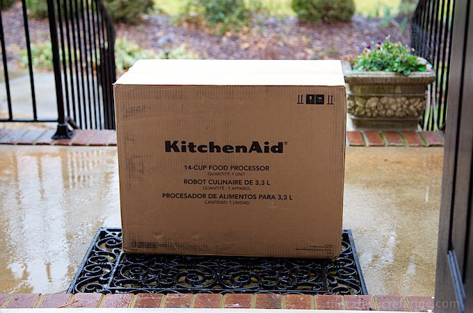 A big box from KitchenAid!!