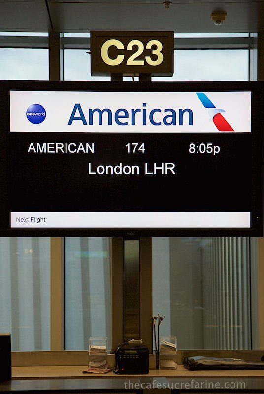 London Heathrow, here we come!