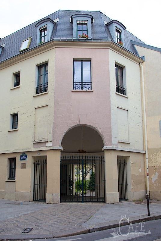Our Little (very little) Paris Apartment in the Latin Quarter of Paris.