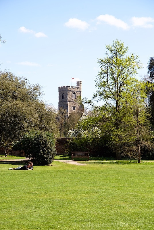 London Spring - Fulham Palace Gardens, London, UK