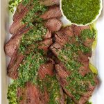Grilled Tri-Tip with Chimichurri Sauce