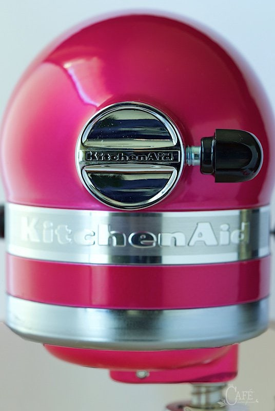 KitchenAid's beautiful Raspberry Ice Stand Mixer.