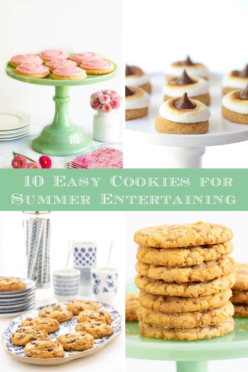Easy Cookie Recipes for Summer Entertaining - Portable, Packable, Picnic-Perfect!