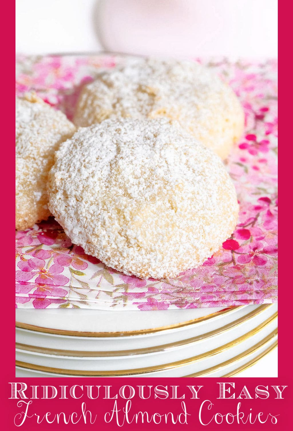 Ridiculously Easy French Almond Cookies (Gluten Free)
