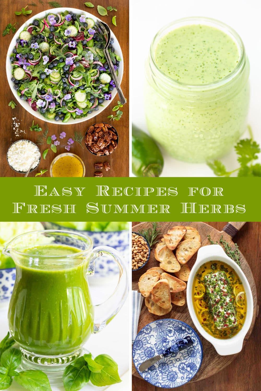 Delicious Ideas for Summer Herbs