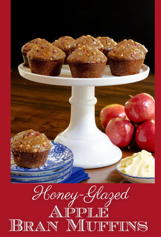 Honey-Glazed Apple Bran Muffins (Gluten-Free... or Not!)