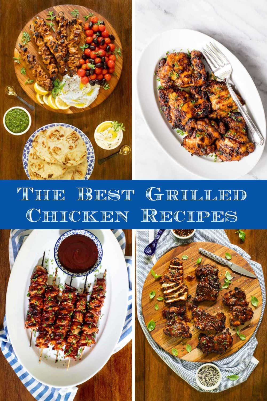 Winner, Winner! Grilled Chicken Dinners!