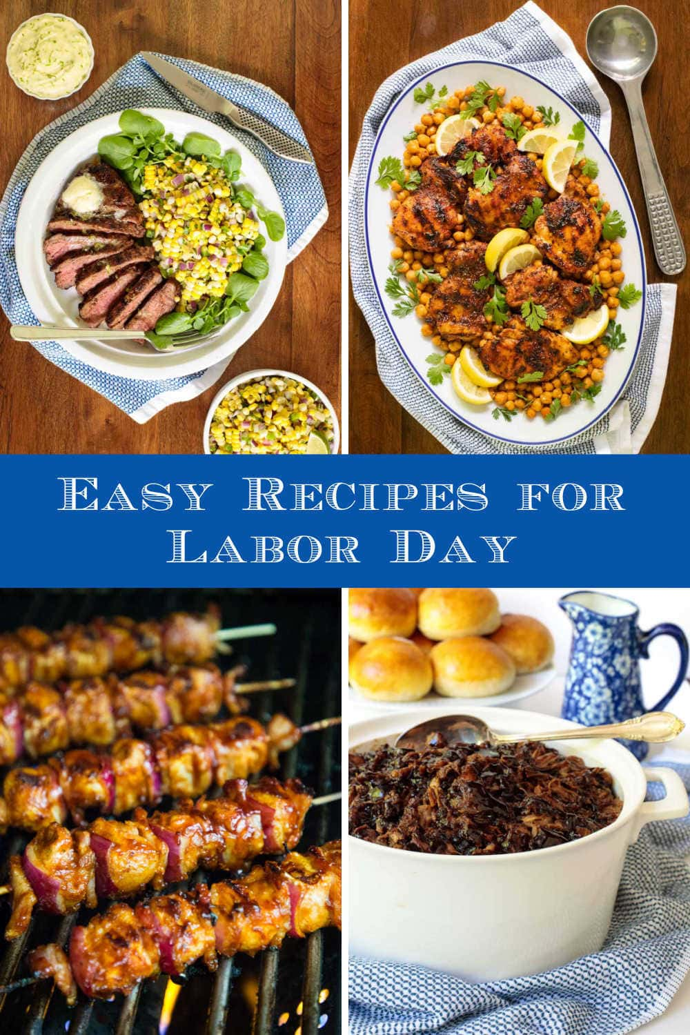 Delicious, Easy Recipes to Take the Labor out of Labor Day