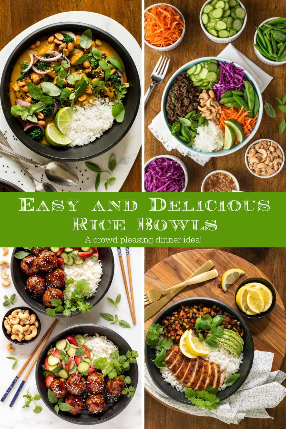 Delicious Rice Bowls for Easy Weeknight Dinners