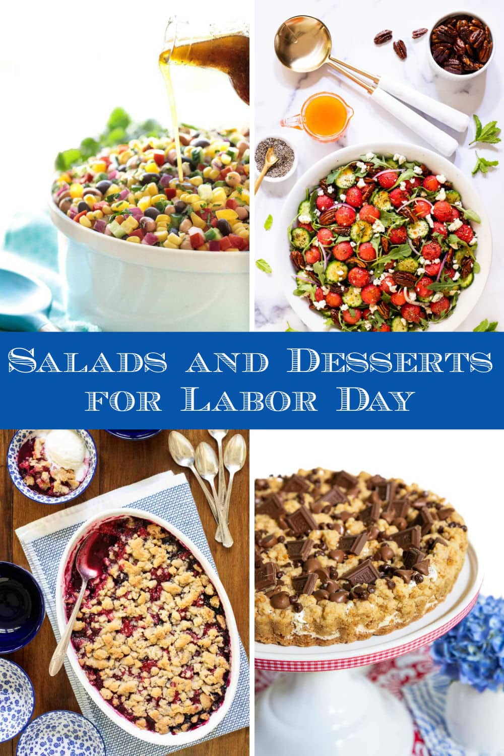 Sides, Salads and Sweets for a Delicious Labor Day Weekend