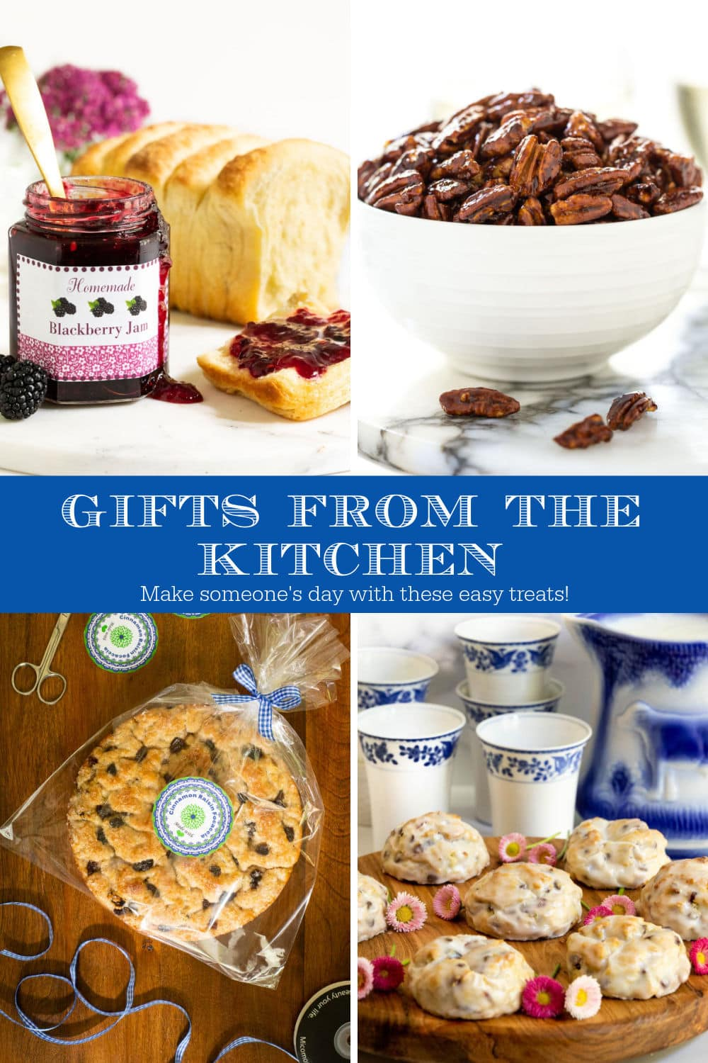 Summery Gifts from the Kitchen (with free printable labels)