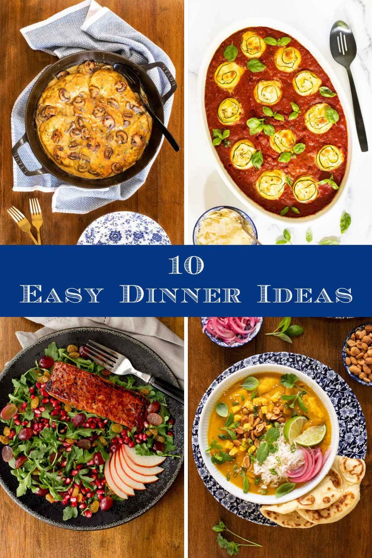 Easy, Fall-ish Dinner Ideas