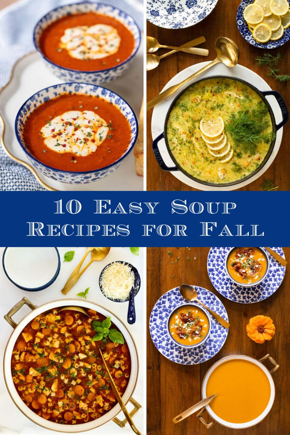 Delicious, Healthy Soups to Welcome Fall