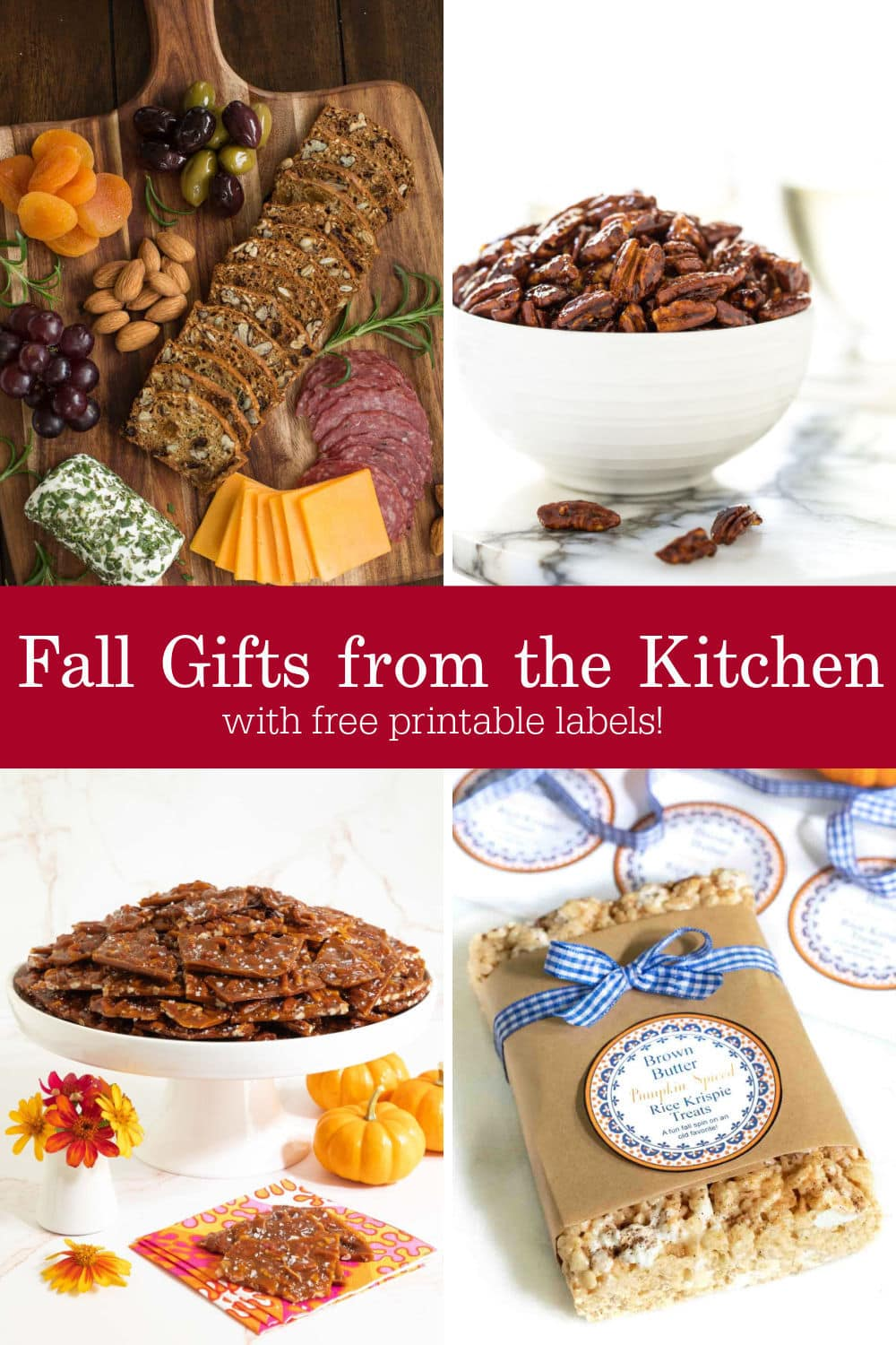 Fall Gifts from the Kitchen - Easy, Fun and Delicious!