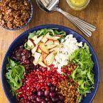 Arugula Roasted Grape Salad-15