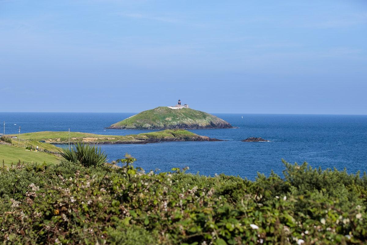 Photo of Ballycotton Lighthouse on the island off the village of Ballycotton.