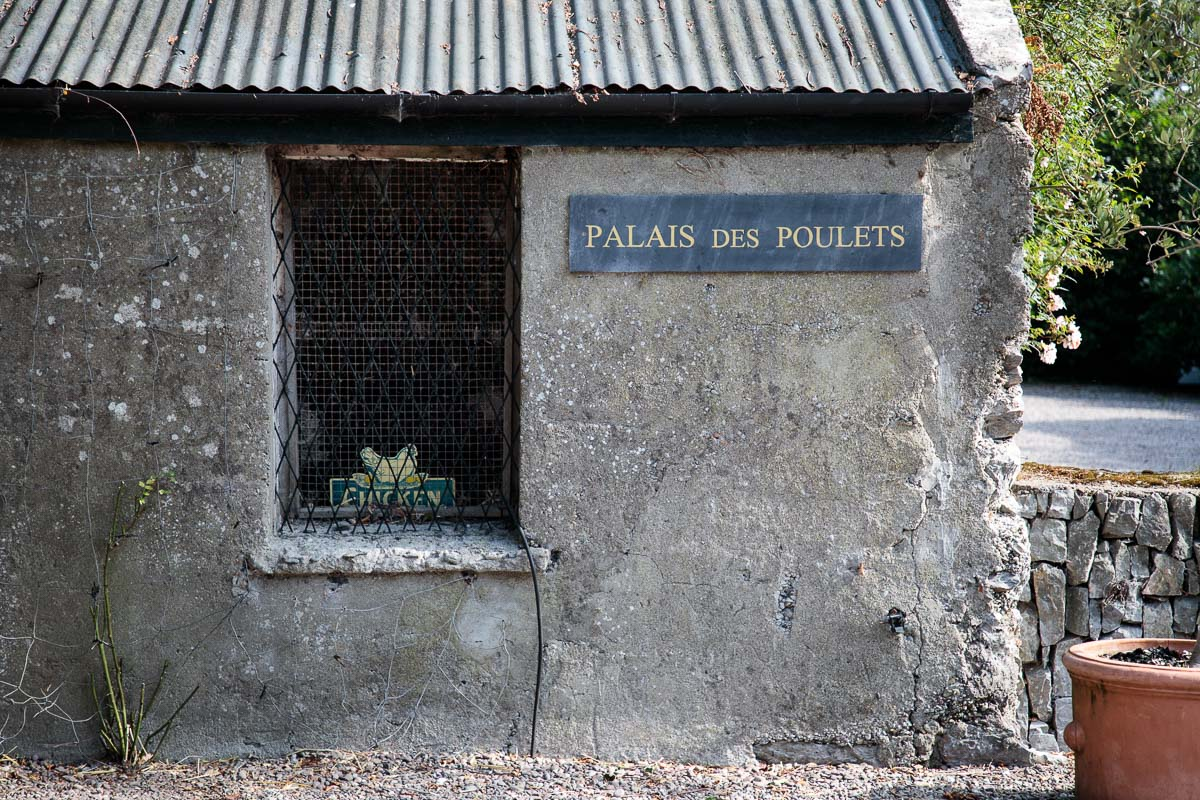 Photo of the Poultry Palace, home of the Ballymaloe Farm chickens.