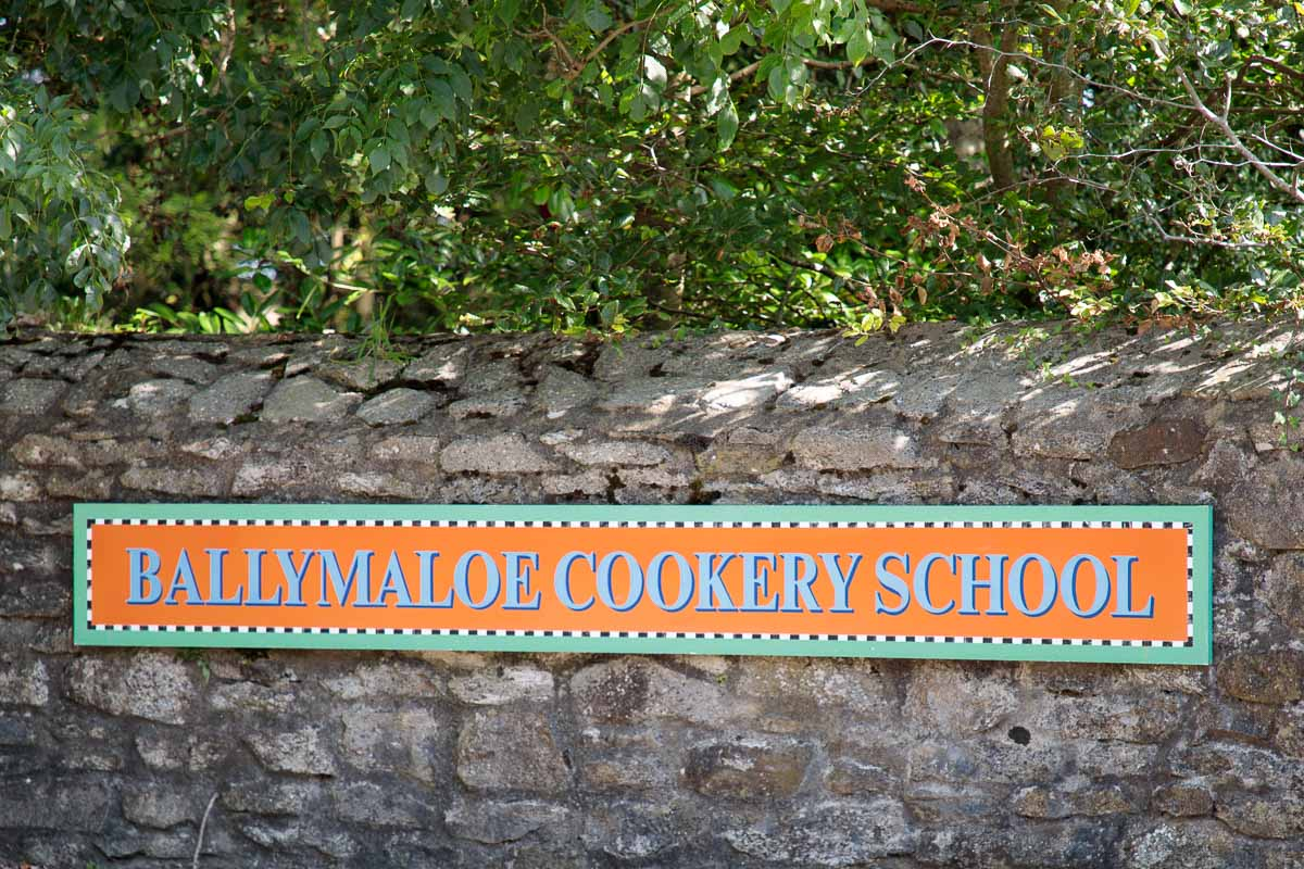 Entrance to the Ballymaloe Cookery School.