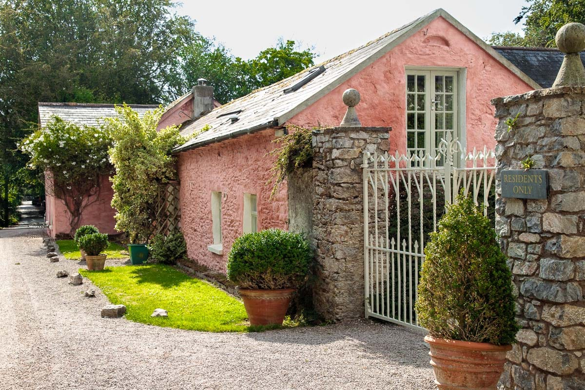 Student cottages on the property of the Ballymaloe Cookery School.