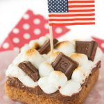 Easy Blondie S'mores Bars