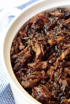 Brown Sugar Balsamic Pulled Pork