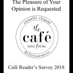 Café Reader's Survey 2018