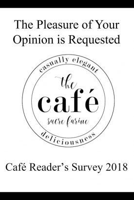 Café Reader's Survey 2018