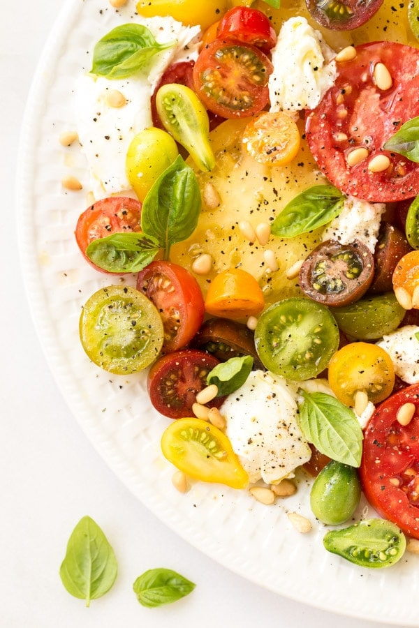 Essence of Summer Caprese Salad