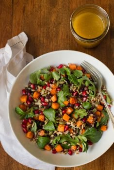 Black Bean Sweet Potato Salad