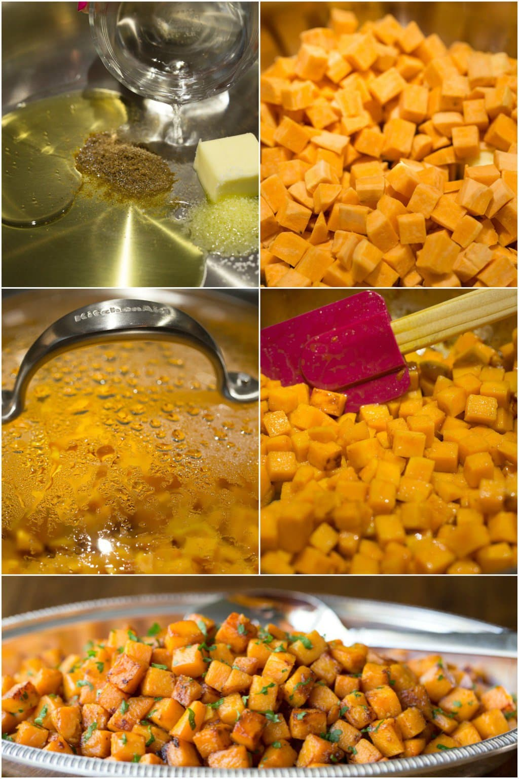 Sweet Potato Puree With Caramelized Marshmallow Recipe ...