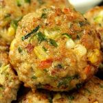 Chicken, Zucchini and Fresh Corn Burgers