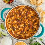 Healthy Chicken Black Bean Chili