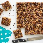 Chocolate Chip Cherry Oatmeal Bars