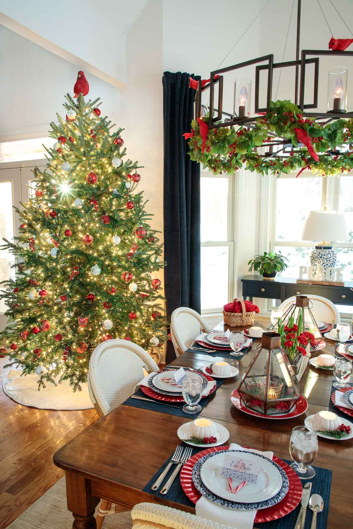 Holiday Table Inspiration Ideas The Cafe Sucre Farine