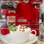 Copycat Starbucks Peppermint Mocha - love this delicious seasonal Starbucks drink? Save money and make your own!