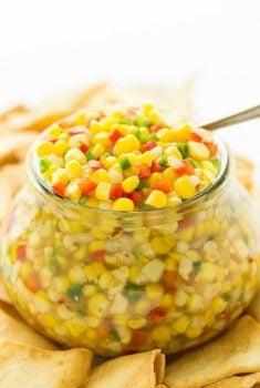 Copycat Trader Joe's Corn and Chile Salsa-9