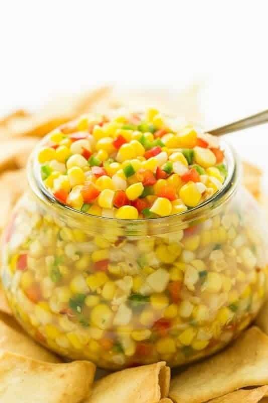 Copycat Trader Joe's Corn and Chile Salsa