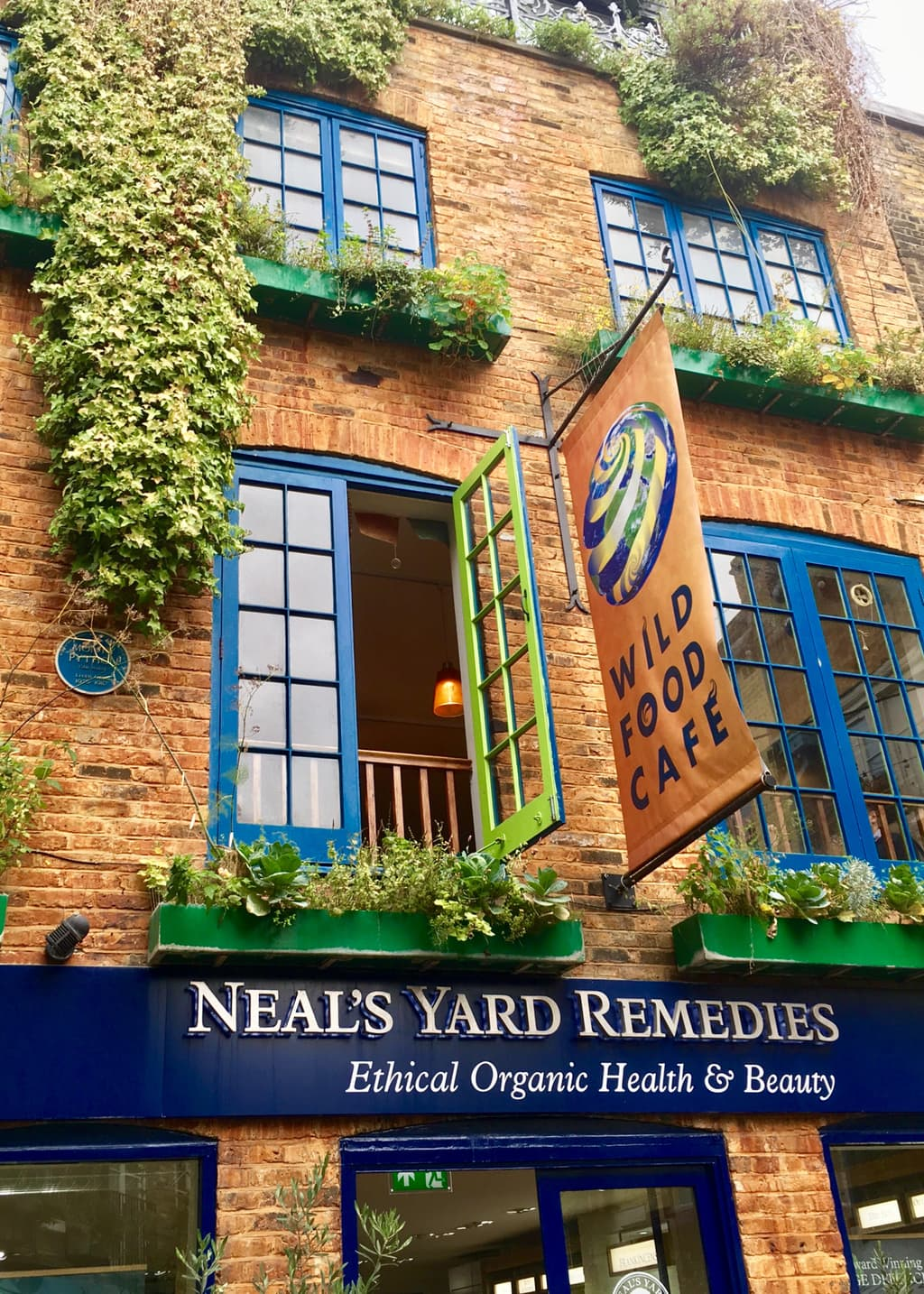 Photo of Neal's Yard Remedies store in Covent Garden on the Apple Store Photo Walk.