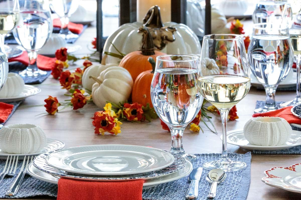 Dining Room Fall Tablescape