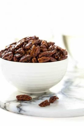 Easy Candied Pecans