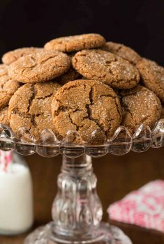 Easy Crack-Topped Ginger Cookies