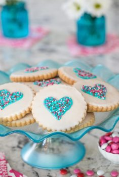 Easy Decorated Shortbread Cookies