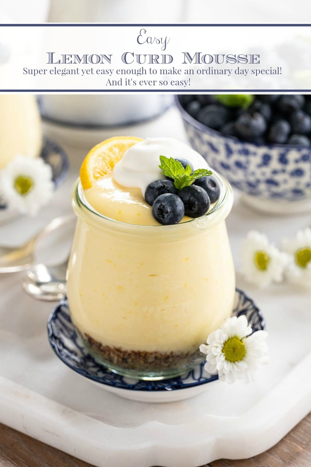 Easy Lemon Curd Mousse