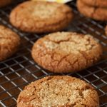 Easy Bakery-Style Molasses Cookies - just like the cookies you find in a fine bakery except you can mix up the dough in one bowl in ten minutes and they cost WAY less!