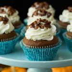 Easy Pumpkin Cupcakes + KitchenAid Giveaway